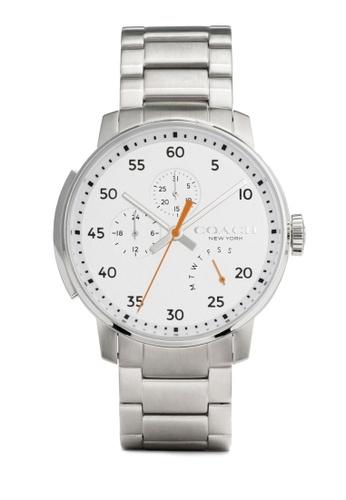 Coach grey and silver Bleecker Watch (cv) 50330AC5B7FD36GS_1