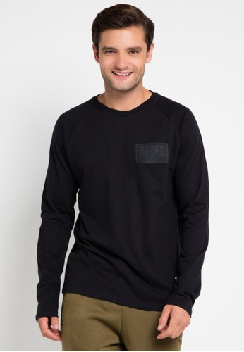 adidas black adidas originals winter shirt AD349AA0UUXQID_1