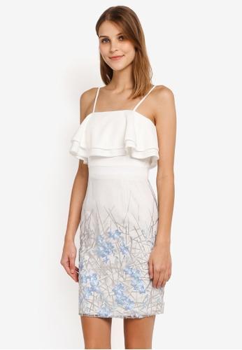 Megane white Red Romance Candide Dress ME617AA0SLBGMY_1