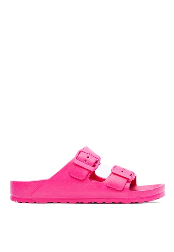 Life8 Casual Lightweight Floating Slippers - 09595 - Pink LI283SH71FAMSG_1