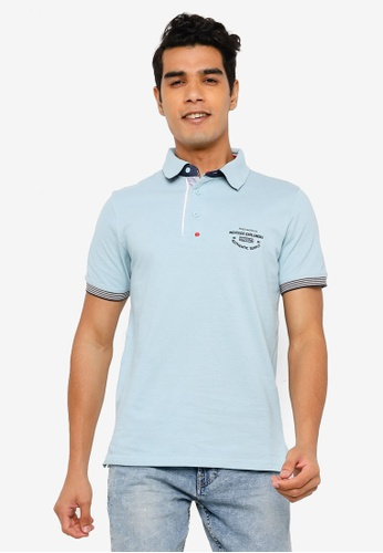 Indicode Jeans blue Chandler Polo Shirt 84811AA6A2C387GS_1