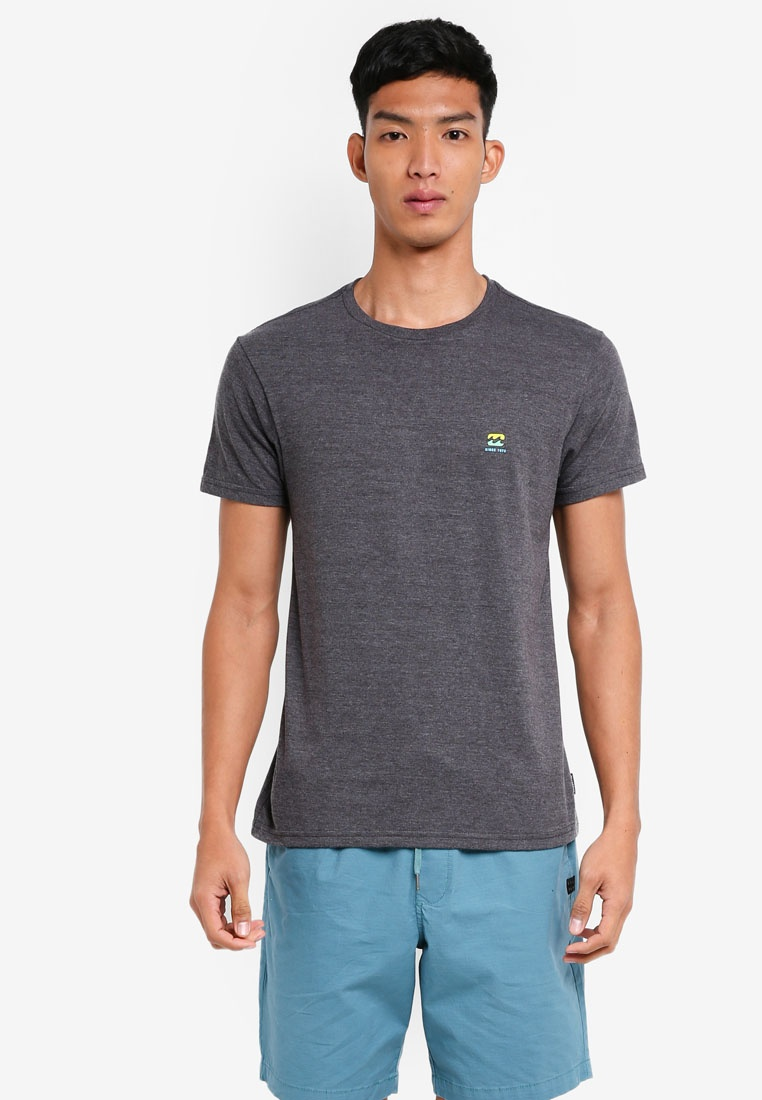Billabong 73 Free Tee Heather Black q1dxOExTwc
