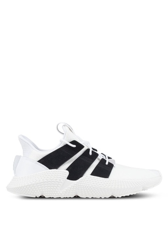 adidas white adidas originals prophere sneakers 53A15SH444EE97GS_1