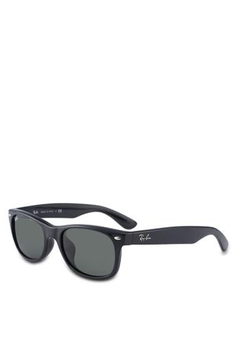 Ray-Ban black Icons RB2132F Sunglasses A7DCDGLF73F93DGS_1