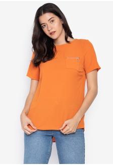 a8e7b6f3dd761 Kashieca Short Sleeve top Php 998.00 · Mango Zip Pocket T-Shirt  A9CCEAA667261DGS 1