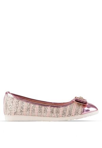 INSIDE pink Inside Flats Electra - Pink IN074SH08BLZID_1