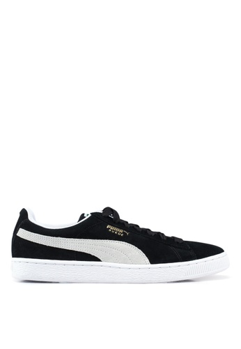 Puma black Sportstyle Prime Suede Classic+ Shoes FACE1SHBCBA3B3GS_1