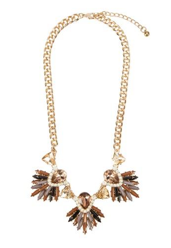 Baguette 閃鑽項鍊esprit tw, 飾品配件, 項鍊