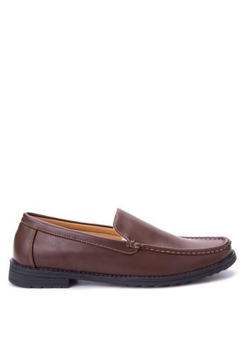 H2Ocean brown Falito Formal Shoes H2527SH66LORPH_1