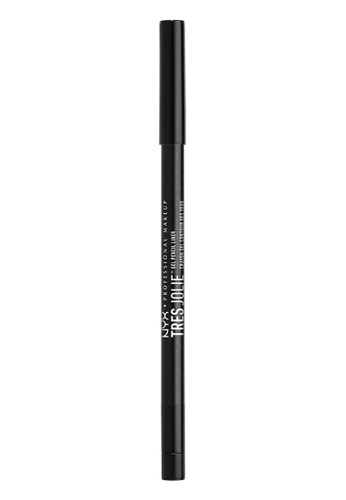 NYX Professional MakeUp black NYX PROFESSIONAL MAKEUP Tres Jolie Gel Pencil Liner - Black NY716BE0SIC0MY_1