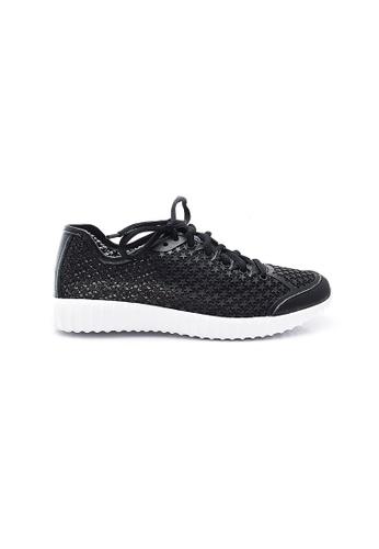 Elisa Litz black Stellie Sneakers (Black) 062A8SHB254B7AGS_1