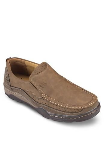 縫線休閒樂福鞋, 鞋,esprit outlet hong kong 船型鞋