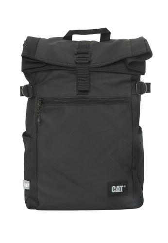 CAT black CAT Heritage Dallas Rolltop Backpack C444FAC142056BGS_1