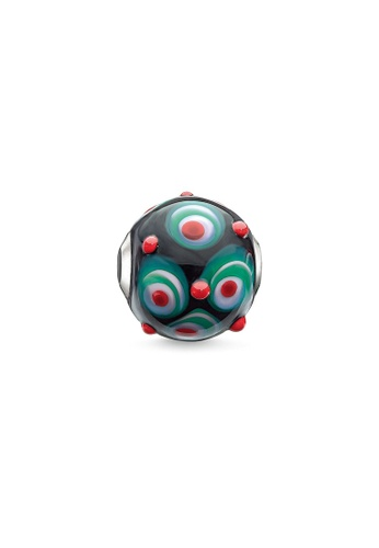 "THOMAS SABO black Bead ""Red, Black, Hot Pink, Green"" DDD3AAC5B93F3FGS_1"