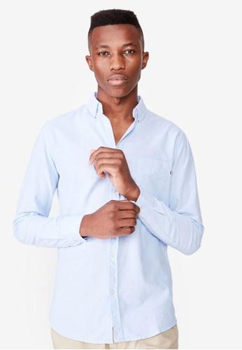 Cotton On blue Brunswick Shirt CO372AA0SSAGMY_1