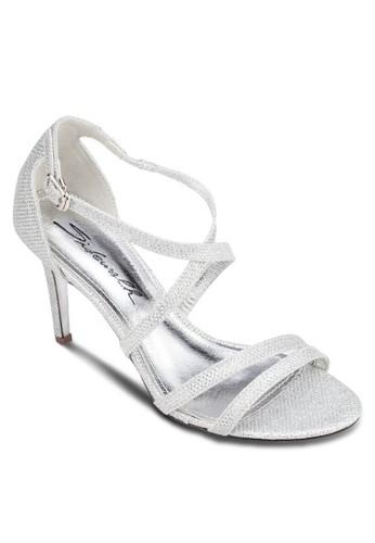 亮面繞esprit地址踝高跟鞋, 女鞋, 鞋