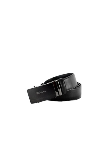 Valentino Rudy black Valentino Rudy Italy Men's 34mm Leather Auto Gear Buckle Belt 0463003-308 C30DCAC721C5B7GS_1