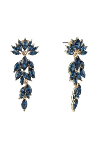 Pieces blue Marlo Earrings 7F929AC236FB7BGS_1