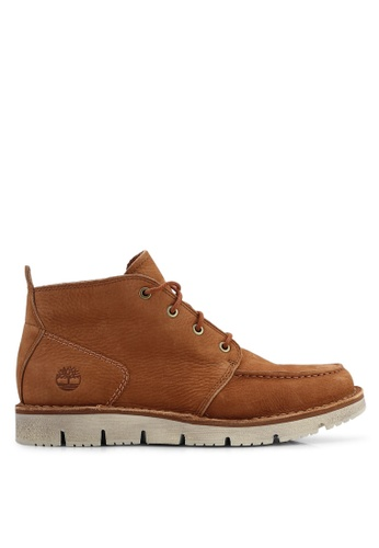 Timberland brown Westmore Moc-Toe Chukka Boots 346A0SH96D8827GS_1