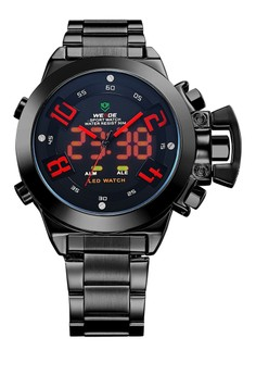 Analog LED Watch WH1008B-2C