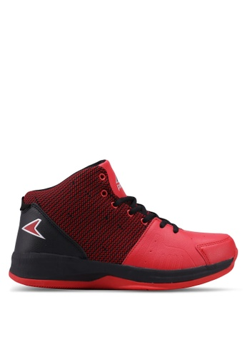 Power black and red Power Basketball Shoes 1C47CSH0975C17GS_1