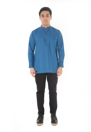 Amar Amran blue Kurta Al Hazim 2.0 6C25BAA15AB387GS_1