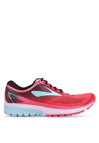 Brooks pink Ghost 10 Shoes FFC25SH3D91377GS_1