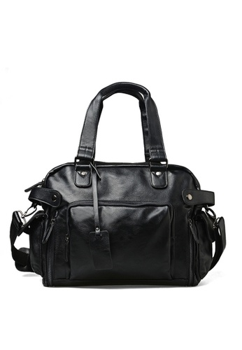 Lara black Cross body Travel Shoulder Bag for Men DE1CAAC979252FGS_1