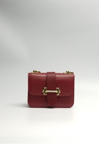 Lara red Women's Small Crossbody Bag BBB12AC0396225GS_1