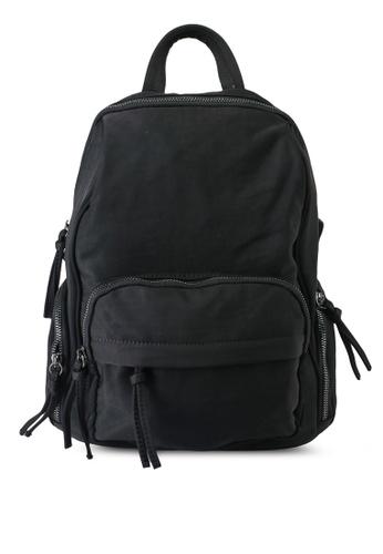 NUVEAU black Oxford Nylon Backpack 476EAAC5126822GS_1