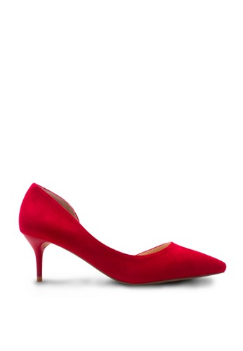 Sepatu Wanita Low Heel Merah