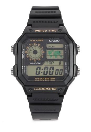 經典方框電子手錶, 錶類,esprit暢貨中心 飾品配件