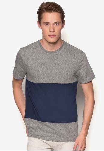 撞色拼接短袖TEE、 服飾、 服飾Topman撞色拼接短袖TEE最新折價