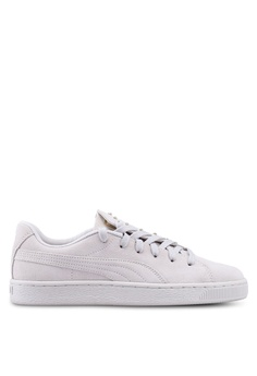 b318a6b1b1 Puma beige Suede Crush Studs Women's Sneakers C50C3SH4069364GS_1