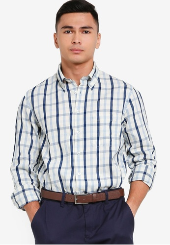 Brooks Brothers white Mens Woven Shirt D2B6BAA06CB148GS_1