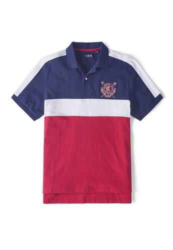 e9650a76 Buy CHAPS Short Sleeve Heritage Polo Shirt Online | ZALORA Malaysia