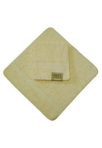 Cotton Fields yellow Cotton Fields Face Towel Plain 75964HL192AC8AGS_1