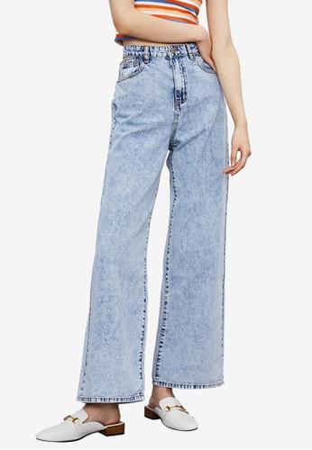 Urban Revivo blue Casual Denim Jeans 0DDB1AAF0D7A47GS_1