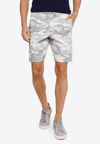 Hollister grey 9 Inch Jogger Shorts EC2CCAA77C7FA6GS_1