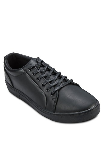 Fauxesprit china Leather Sneaker, 鞋, 休閒鞋