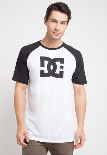 DC white Star Raglan 7C7BEAAB643BE7GS_1