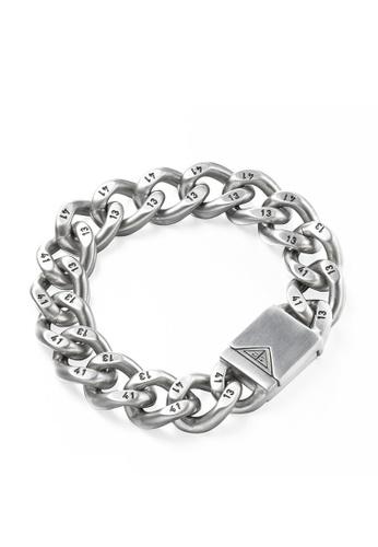 HAPPY FRIDAYS 1314 Lovers Titanium Steel Bracelet DW0144 E1FCEAC27F5482GS_1