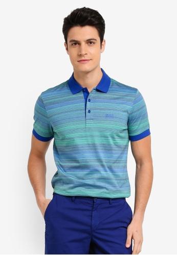 BOSS blue Paddy 3 Shirt - Boss Athleisure 39D85AAFC111BEGS_1