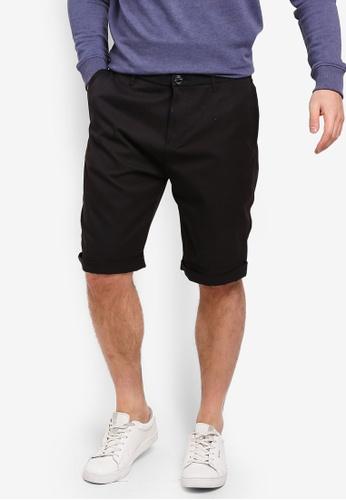 ESPRIT 黑色 休閒短褲 41874AA52A3B4CGS_1
