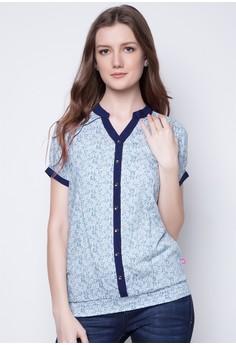 Short-Sleeve Blouse