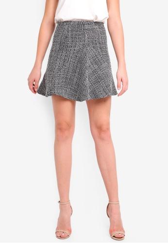 Forever New multi Katie Fit & Flare Mini Skirt 35FD2AADA65680GS_1