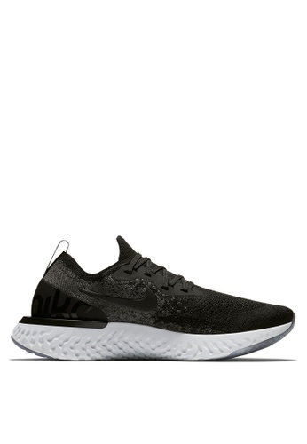 c07fb7491e8a3 Nike black Women s Nike Epic React Flyknit Running Shoes A0886SH63981EBGS 1