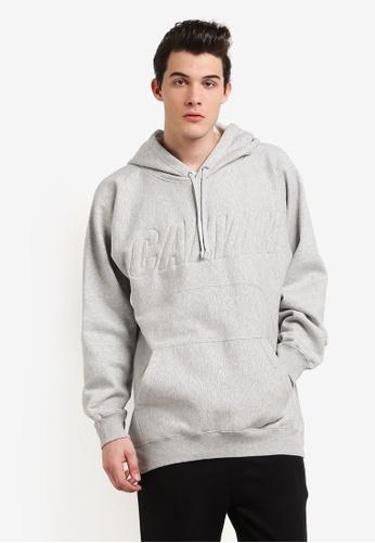 Calvin Klein grey Hark Pullover Hoodie - Calvin Klein Jeans CA221AA0RN5KMY_1