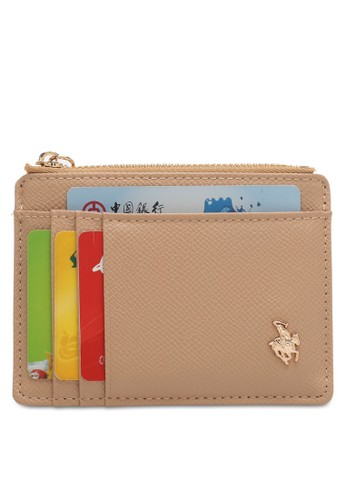 Swiss Polo beige Ladies Coin & Card Holder D55C5ACE8F88D6GS_1
