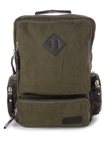 Chase Fashion green Diamond Patch Backpack CH547AC36ELZPH_1